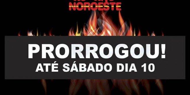Prorrogado! Último queimão do ano Noroeste vai até sábado, em Santa Inês