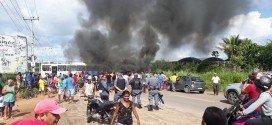 Nota Rápida – Protesto de moradores da Santa Helena em Pindaré Mirim
