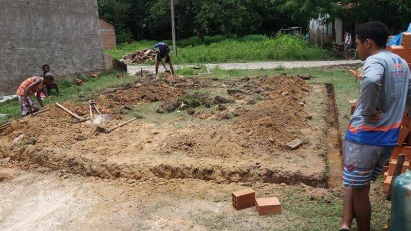 construcao da casa que caiu