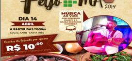 Dia 14 de abril acontece o FeijoIFMA na AABB em Santa Inês