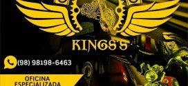 Peças, acessórios e oficina especializada para motos em Pindaré é na loja Motorcycle Kings's