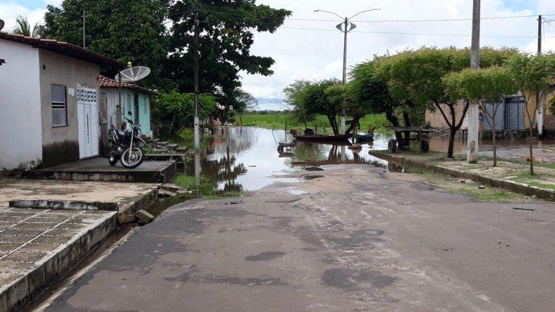 Situação do final da Rua Nova. Foto: William Junior/Portal Pindaré