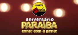 Começa nesta segunda-feira(24) o Aniversário Paraíba com muitas promoções e sorteio de milhares de prêmios