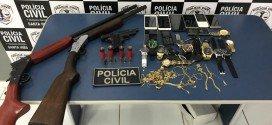 Polícia Civil de Santa Inês apreende armas, jóias e celulares