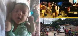 Bebê desaparece enquanto dormia com os pais; polícia faz buscas