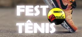 Nesta quinta, sexta e sábado tem a promoção 'Fest Tênis Paraíba' em Santa Inês