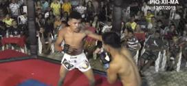 Pindareense Matheus Bocão vence mais uma luta; assista o vídeo