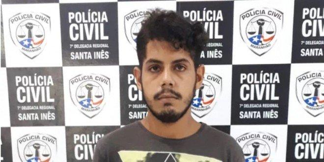 Preso em Santa Inês suspeito de matar jovem em Paço do Lumiar