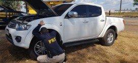 PRF recupera em Santa Inês caminhonete roubada em Minas Gerais