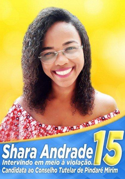 candidata shara andrade
