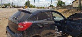 PRF apreende veículo com apropriação indébita em Santa Inês