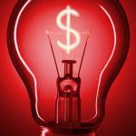 bandeira vermelha energia luz