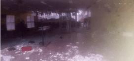 Criminosos atacam a cidade de Santa Luzia e destroem agência bancária