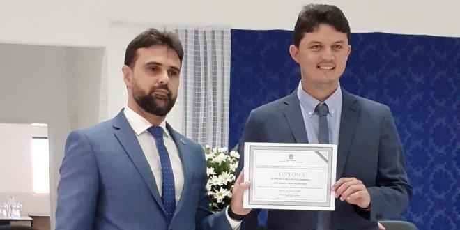 Augusto Filho é diplomado e empossado prefeito de Bela Vista